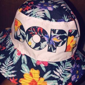 DOPE Floral Bucket Hat